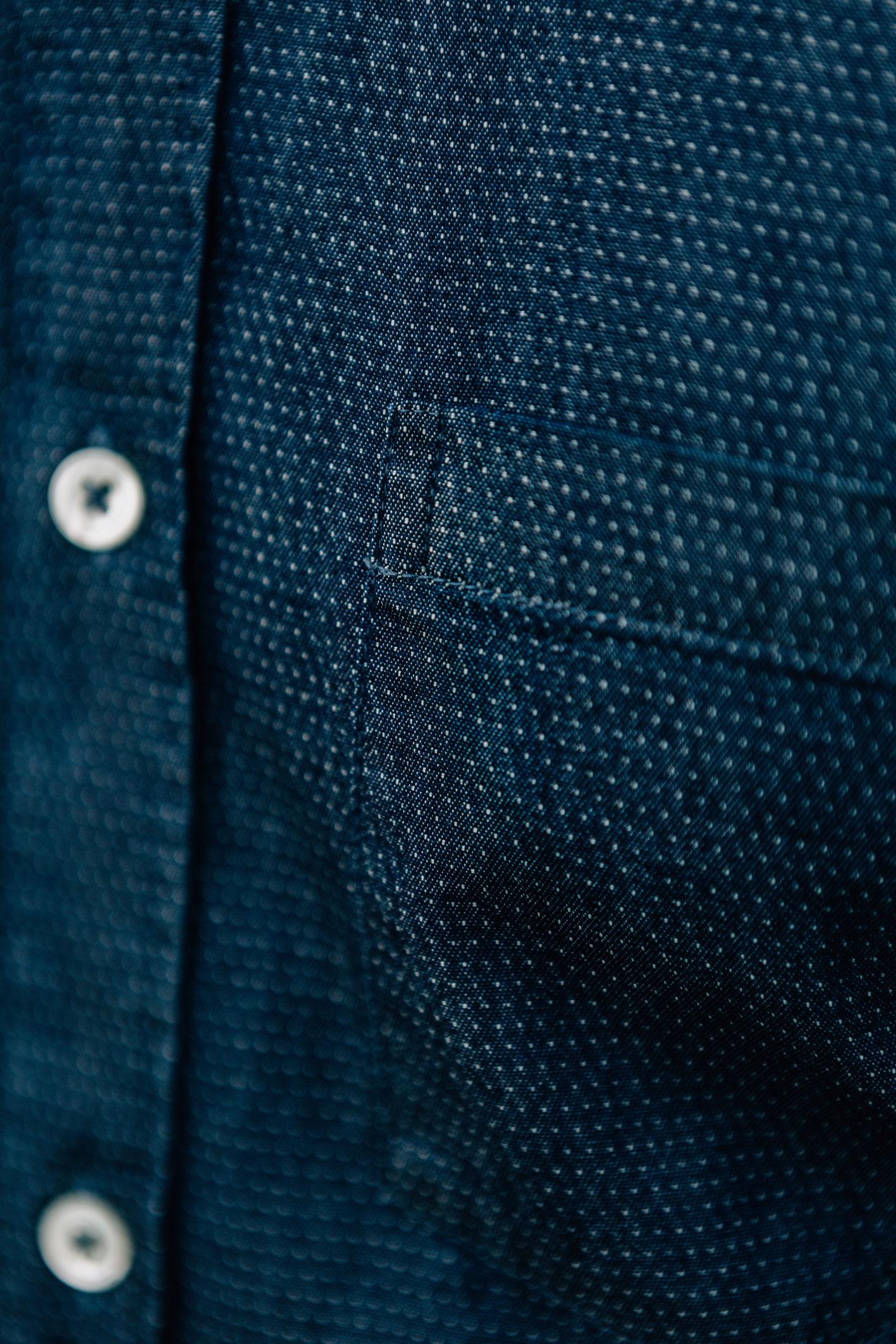 Django chemise denim poche