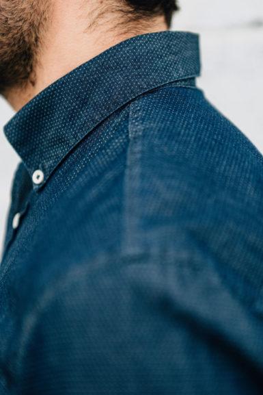 Django chemise denim épaule