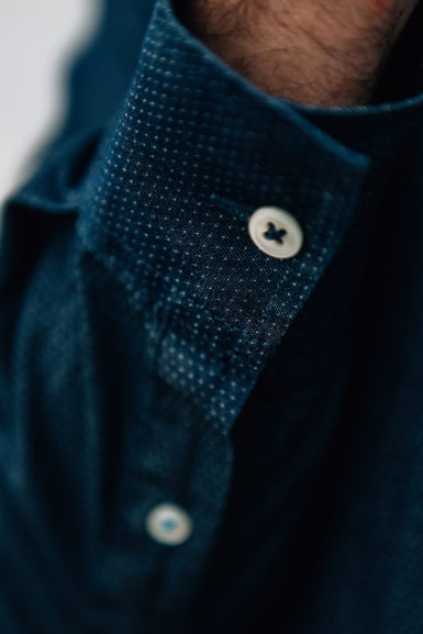 Django chemise denim poignée