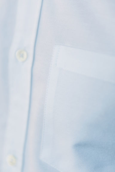 Chemise Oxford Blanc poche