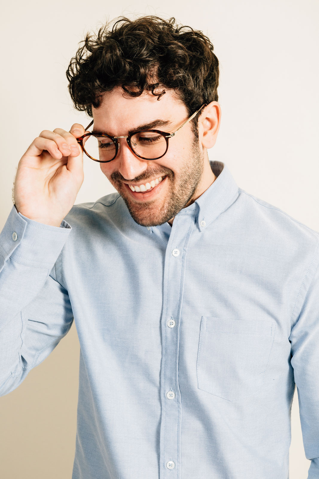 Watson chemise oxford portrait