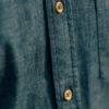 Chemise Chambray boutons bois boutonnière