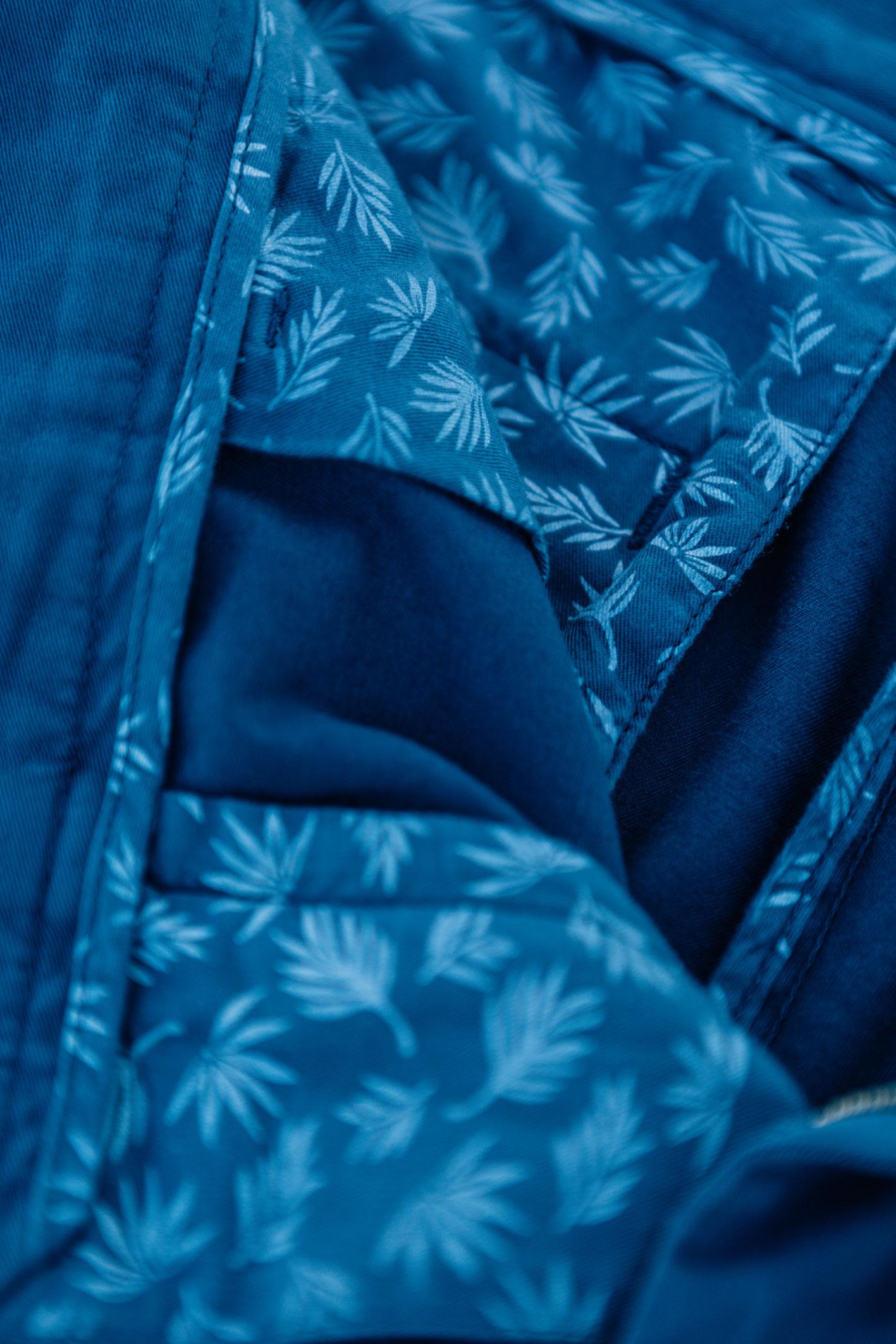 Chino bleu canard poche intérieure
