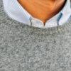 Pull cachemire Renard Argenté close-up col