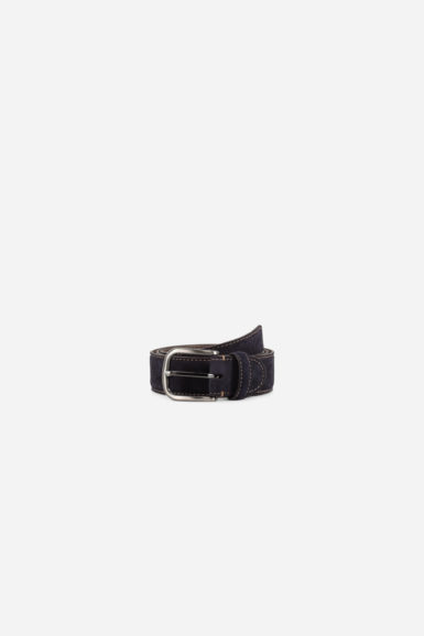 ceinture nubuck juan navy bleu packshot