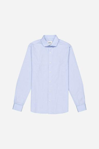 chemise james fil-à-fil bleu packshot