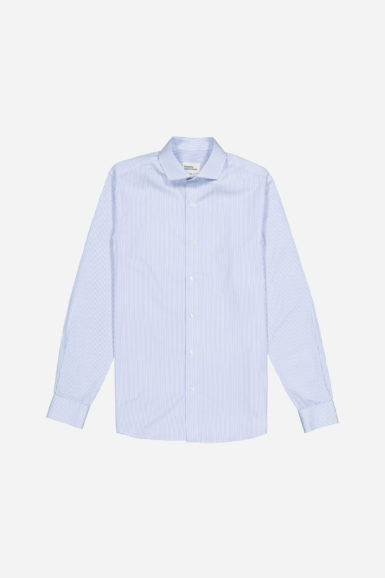 chemise popeline rayée arsene packshot